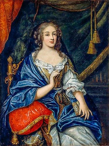 Louise de La Valliére, una delle prime amanti di Re Sole. Durante questa relazione amorosa prese corpo il sogno di Versailles.