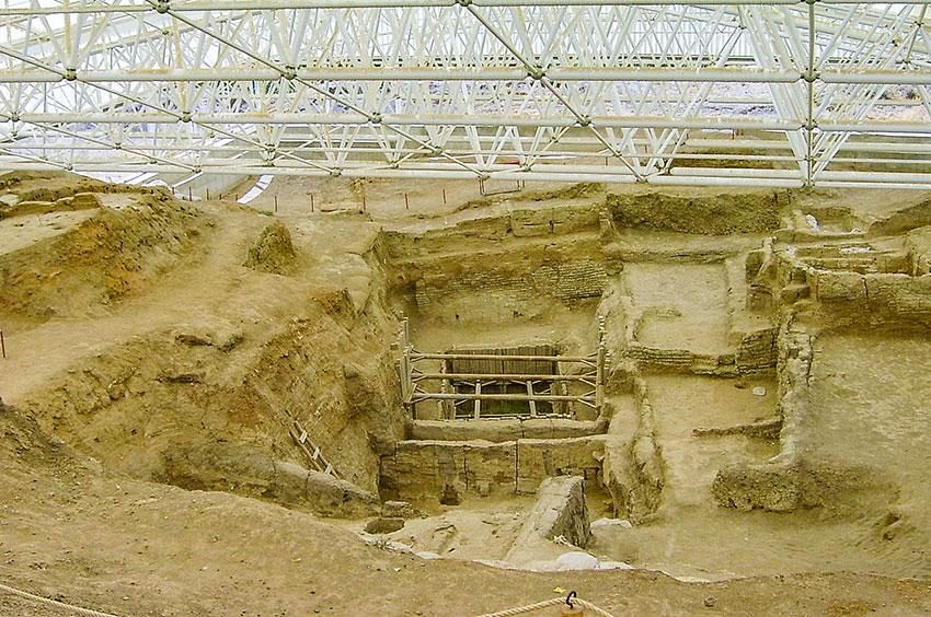 Siro archeologico di Catal Hüyük, in Anatolia. Foto: Stipich Béla CC BY SA 3.0