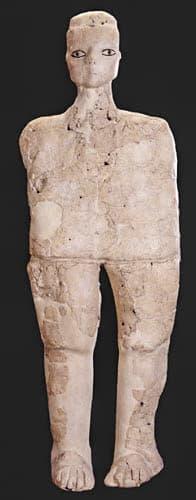 Statua di Ain Ghazal.