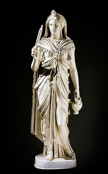 Iside Capitolina, John Cheere 1767. Museum Associates-LACMA