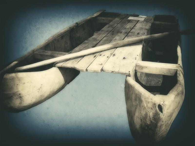 Un esempio di imbarcazione africana. Foto: Thesupermat CC-BY-SA 2.5