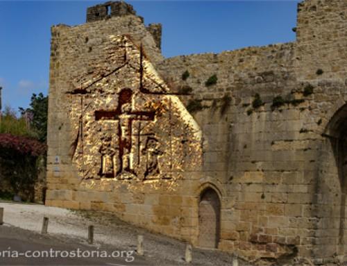 I graffiti templari di Domme